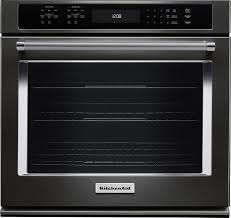 30 built in single electric convection wall oven