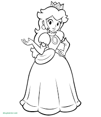 paper princess peach coloring page free printable pages inspirational of kids coloring pages princess