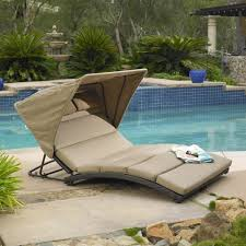 oceanview double chaise lounge with canopy mission hills furniture