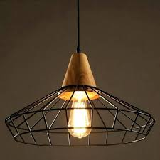 caged pendant light a kmart industrial cage