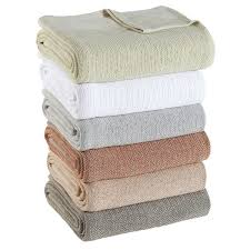 100 percent cotton blankets. Delighful Percent True Cotton Thermal Blanket To 100 Percent Blankets