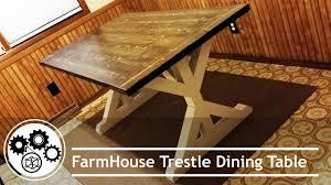 Building Dining Table Diy Building Farmhouse Table Youtube