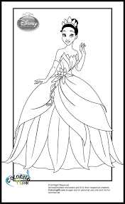 Disney Princess Coloring Pages | Minister Coloring