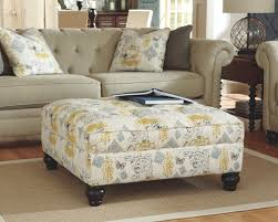 tail table ottoman chair and a half with ottoman microfiber ashley furniture ottoman