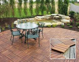 Fabulous Outdoor Patio Flooring Ideas Wood Patio Flooring Endearing Outdoor  Patio Floor Covering Home