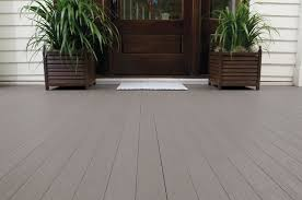 azek pvc porch slategray tongue and groove porch flooring