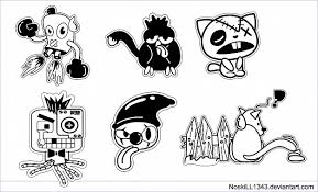 Cartoon Designs Five Free For Use Vector Cartoon Characters Great For T