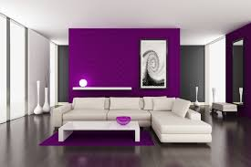 Paint Designs For Living Rooms Interesting Living Room Paint Ideas With Modern Style And Purple