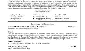 Child Care Cover Letters Resume Child Care Provider Job