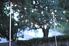 How To Use String Lights On Outdoor Trees Savwi Com