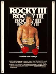 Rocky 3 Movie Poster   30x40 Original Vintage Movie Poster