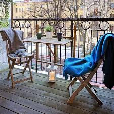 outdoor furniture small balcony. small deck furniture patio with umbrella vintage look wooden chair and table outdoor balcony o