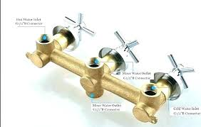 how to fix bathtub faucet diverter nice inspiration ideas fixing a shower faucet 3 handle repair