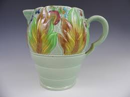 Clarice Cliff Jug Designs A Clarice Cliff Newport Pottery Celtic Leaf And Berry