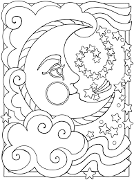 Small Picture Free Printable Moon Coloring Pages for Kids Best Coloring Pages
