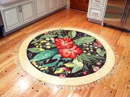 trompe loiel faux painted floor rug