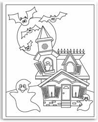 Small Picture Halloween Colouring Pages for Free Fun for Halloween