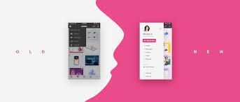 Dribbble Design Improving Dribbble App Navigation Step By Step Prototypr
