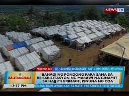 Image result for marawi funds used for pilgrimage