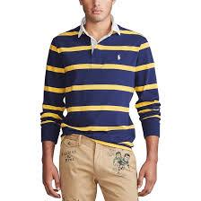 <b>Футболка</b>-<b>поло прямого</b> покроя в полоску, rugby Polo Ralph ...