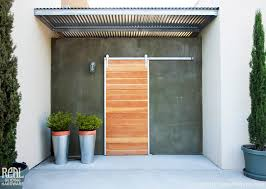 barn door installations contemporary entry