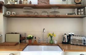 kitchen decoration medium size floating wood shelves for picture cabinets countertop how to make your kitchen appear be floating design blog countertop