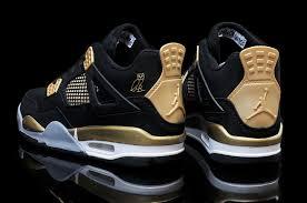 jordan ovo. mens air jordan 4 retro ovo black nubuck-gold online for sale-4 ovo