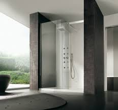 Bathroom Design Shower Of fine Modern Bathroom Shower Ideas Best Home  Decoration Nice