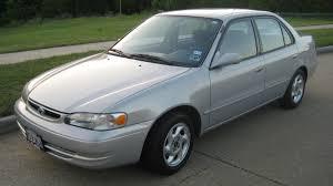 1999 Toyota Corolla - Information and photos - MOMENTcar