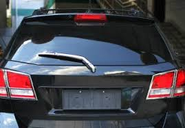 arm blade name. name: chrome rear window wiper arm blade cover garnish trim for fiat freemont name