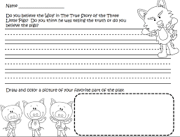 Printable Three Little Pigs Worksheets | Activity Shelter