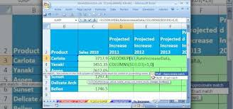 Sales Projection Format In Excel How To Create Projections For Sales Numbers In Ms Excel Microsoft