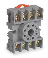 dayton relay socket standard octal 8 pin 15a 5x852 zoro com relay socket standard octal 8 pin 15a