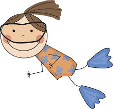 girl swimming clipart. Modren Girl Girl Swimming Clip Art To Clipart L