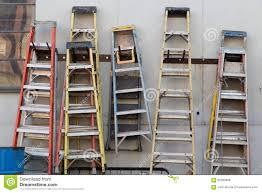 Royalty-Free Vector. Download Ladders hanging on a wall ...