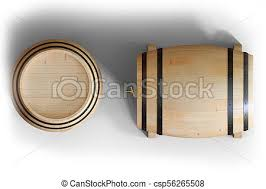 oak barrels stacked top. Oak Barrels Stacked Top. Simple 3d Illustration Wooden View Top Wine Isolated On