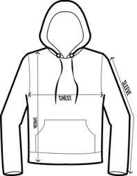 Hoodie Size Chart Tkm Mens Hoodie Sweatshirt