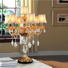 candelabra lamp shade bedside table lamp fabric cover crystal table lamp shades desk bedside table lamp candelabra lamp shade