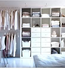 walk in closet behind bed the grid unit has no back so add sheet metal to closet behind bed