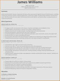Resume Examples 2016