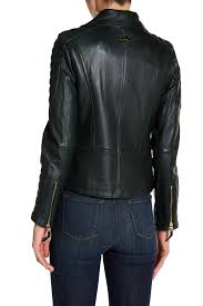 vince camuto asymmetrical zip genuine leather moto jacket nordstrom rack