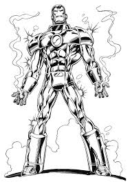 Small Picture Kids n funcom 60 coloring pages of Iron Man