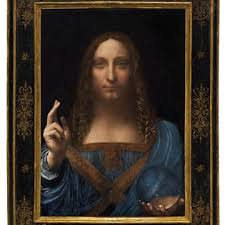 Image result for salvator mundi painting image