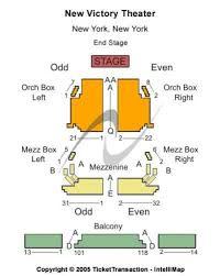 Victory Theater Seating Chart New Victory Theater Tickets And New Victory Theater Seating