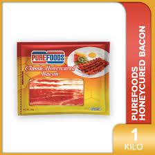 Purefoods Honeycured Bacon 1KG | Lazada PH