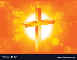 easter cross background 1 vector image