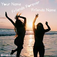 best friends dp with name pictures