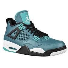 fa. jordan, Jordan Retro 4 Herren Basketball Schuhe Teal N14c91YF15 ...