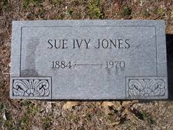 Sue Ivy Henry Jones (1884-1970) - Find A Grave Memorial