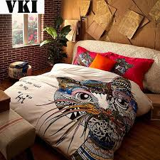 Bohemian Boho Style quilt cover sets queen bed egyptian cotton bed ... & Bohemian Boho Style quilt cover sets queen bed egyptian cotton bed sheets  duvet cover canada king Adamdwight.com
